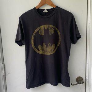 2008 Batman Logo Crewneck T-shirt Vintage Y2K